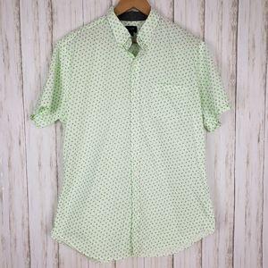 J. Crew Neon Print Button Down Shirt